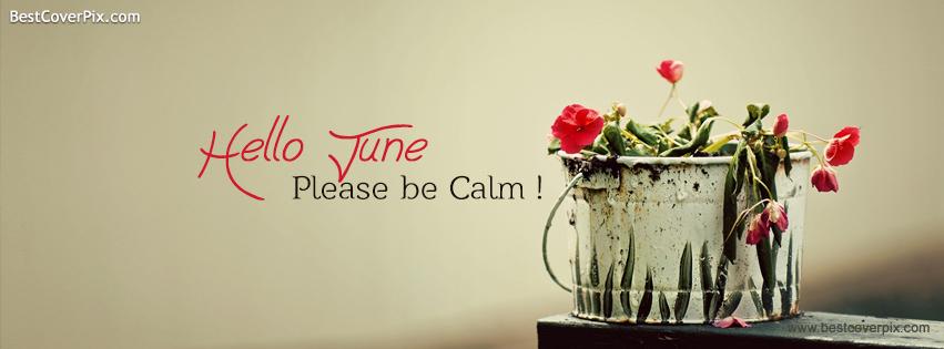 hello june please be calm fb cover photo
