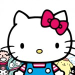 hello kitty family facebook cover photo
