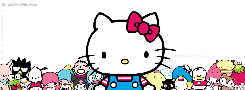 Hello Kitty – Facebook Timeline Profile Cover Photo