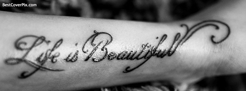 Life is Beautiful – New Facebook Covers