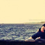 lonely girl fb cover photo