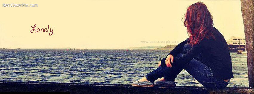 Lonely Girl Facebook Timeline Profile Cover Photo