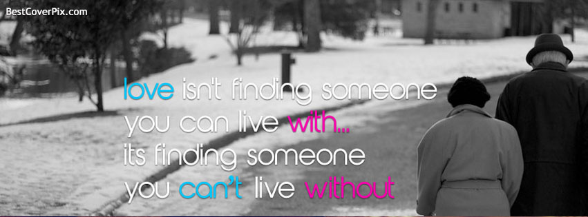 Love Quotes Cover Photos for Facebook