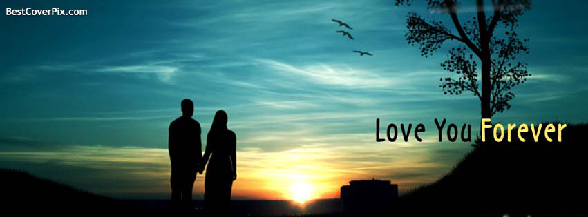 forever love - couple Fb cover