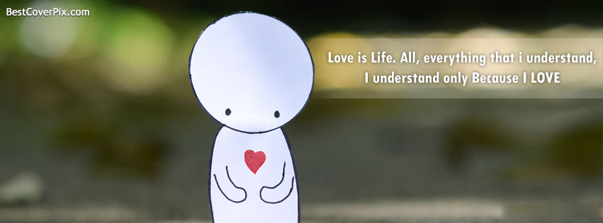 Love Is Life Understanding Of Cover Photos For Facebook
