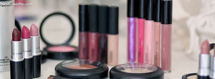 lovely mac makeup fb cover photo