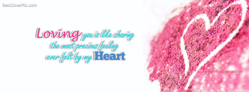 Loving You | Love Quotes Facebook Timeline Cover Photo