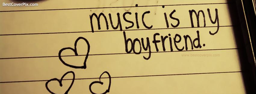 Music is my Boyfriend – Musical Hearts FB Cover photo