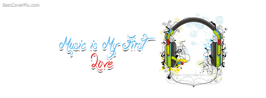 music is my first love fb cover photo