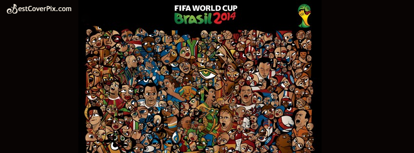 Brasil World Cup 2014 FIFA Facebook cover photo