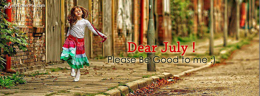 Dear July Facebook Timeline Cover Photo
