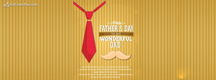 Happy Fathers Day Timeline FB Cover Photo
