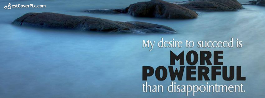 Positive Quote for Life Facebook Cover Photo