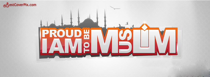 proud to be muslim fb cover photo