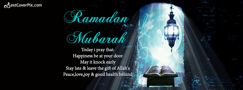 Ramadan Mubarak 2016 Facebook Timeline Cover Photo