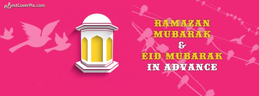Eid and Ramadan Facebook cover - Last ashrah 2014