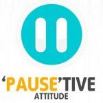 simple positive attitude facebook cover photo
