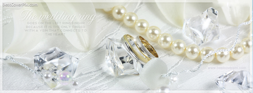 wedding ring facebook cover photo