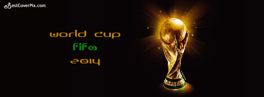 world cup fifa 2014 facebook cover photo
