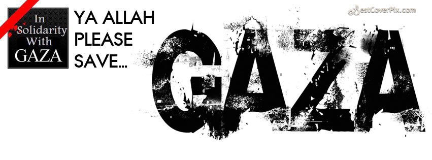 1save gaza facebook cover photo