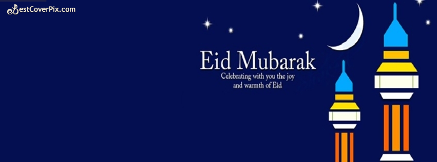 happy Eid Moon Facebook cover