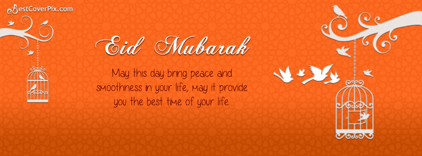 Eid Mubarak Facebook Timeline Profile Cover Photo