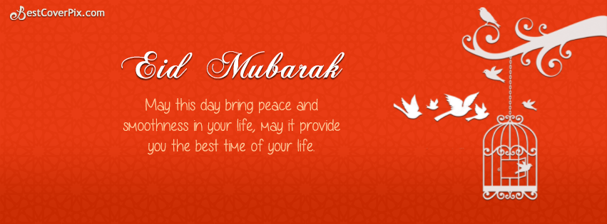 Beautiful Peace Eid-ul-Fitr Facebook Timeline Cover Photo