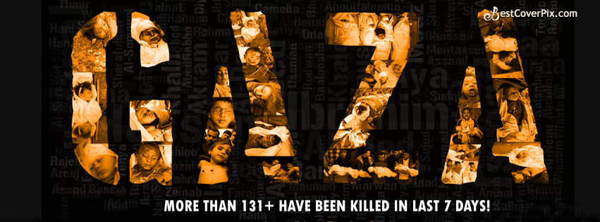 Save Gaza Facebook Cover Photos