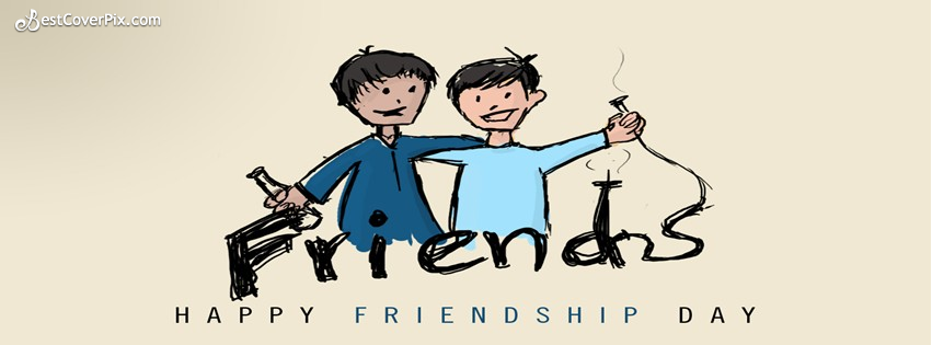 happy friends day cover photo