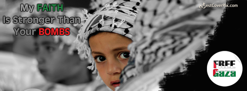 Free Gaza Facebook Timeline Cover Photo