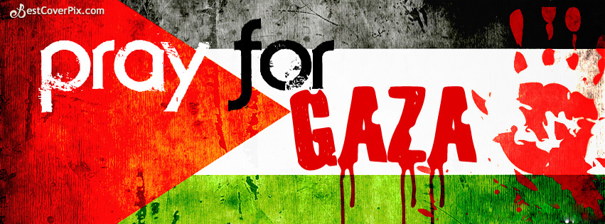 Pray for Gaza – Facebook Timeline Cover Photo