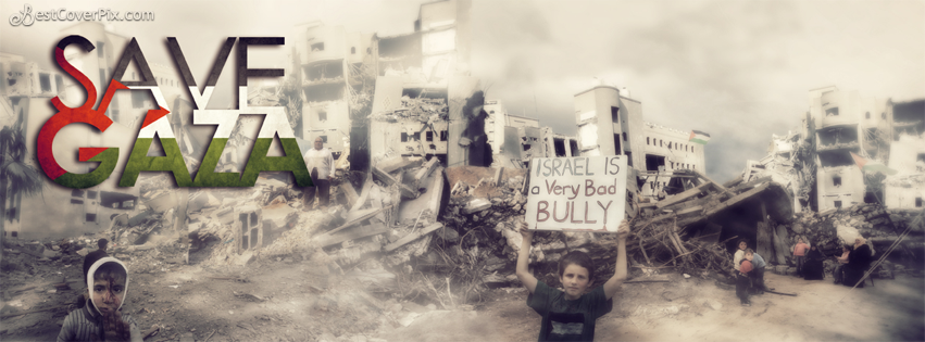 save gaza fb cover