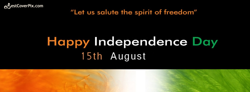 15 august india facebook cover photo