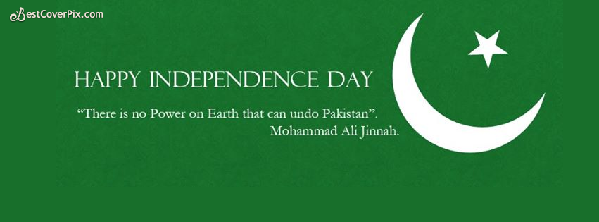 Happy Independence Day Go Green FB Cover Photos for 14th August 2016