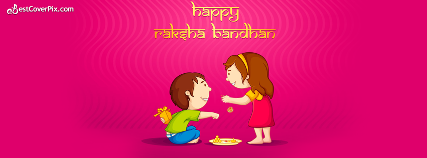 Happy Raksha Bandhan 2014 Facebook Cover Photo