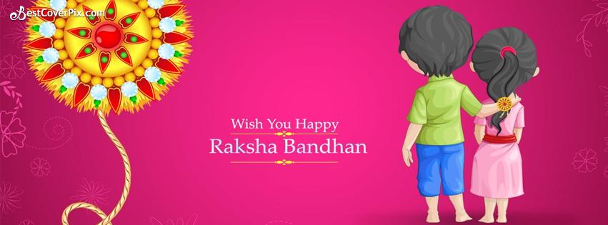 happy raksha bandhan fb cover photo