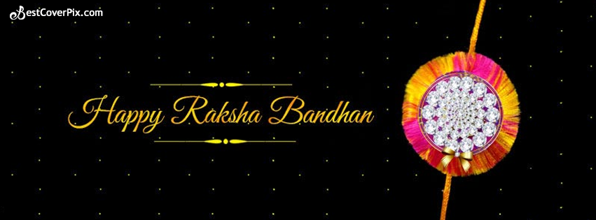 Happy Raksha Bandhan Rakhi Facebook Cover Photo