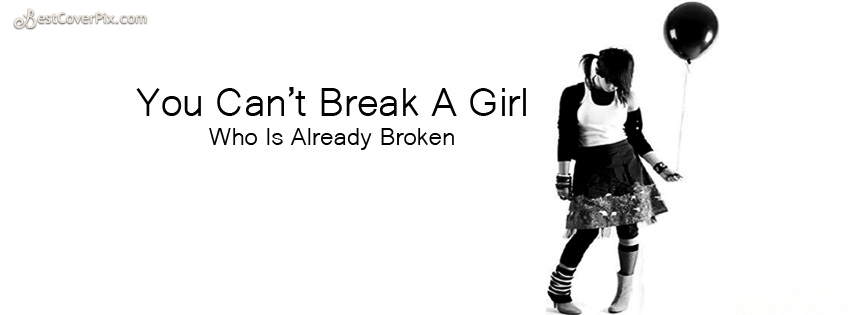 Alone and Sad Girl Profile Cover Photo