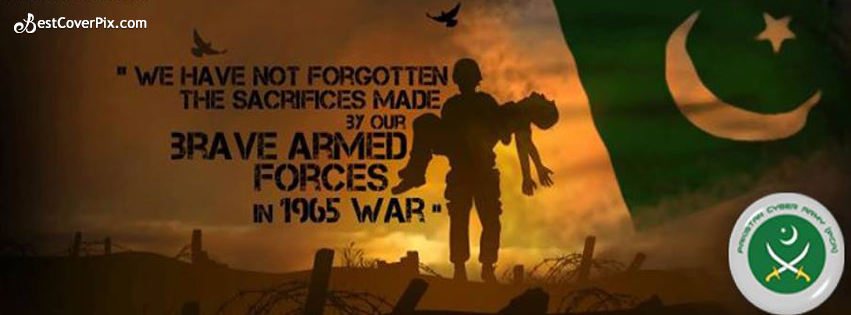 Pakistan Defence 6 September Facebook Cover Photo