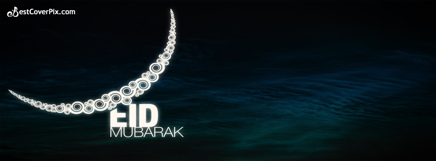 Eid Mubarak – Zil-Haj Chand Mubarak Facebook Cover Photo