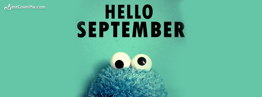 hello september fb cover photo