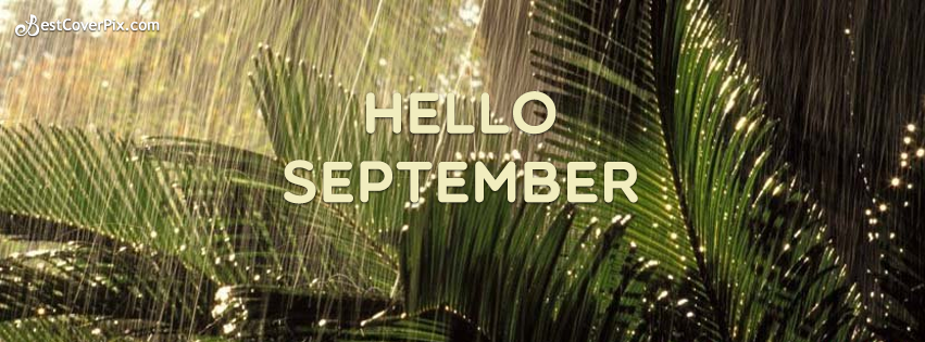 Hello September Please Good To Me Facebook Cover Photo