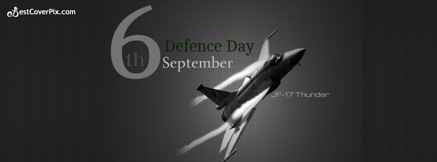 6th September Defence Day  Facebook Profile Cover Photo