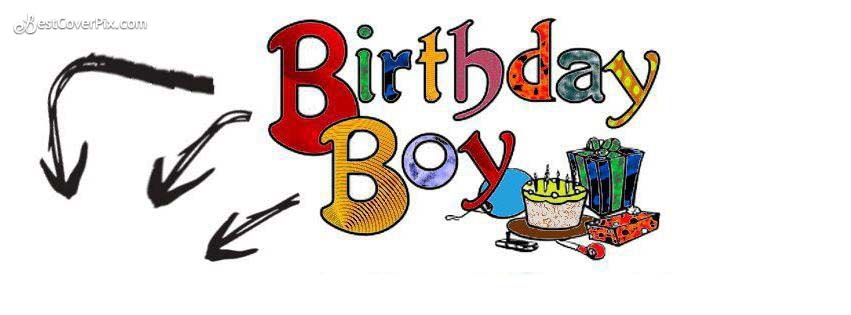 birthday boy facebook cover photo