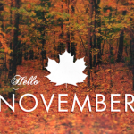 hello November and Autumn Facebook Covers