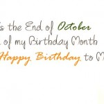 october happy birthday to me birthday fb cover