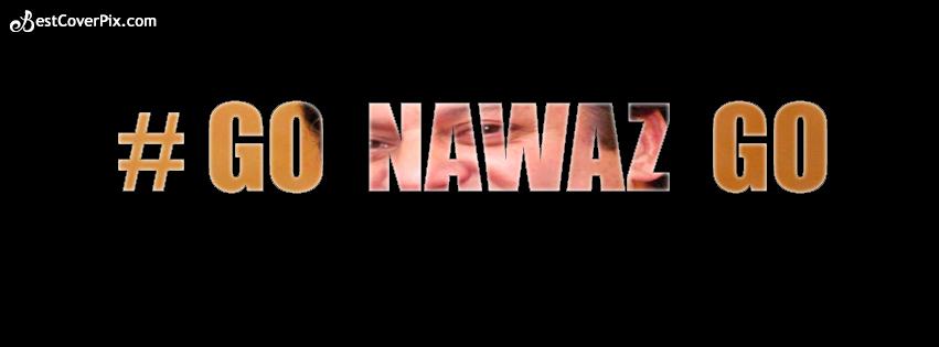 Go Nawaz Go Facebook Cover Photo
