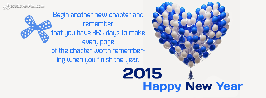 happy new year 2015 greetings card for facebook timeline