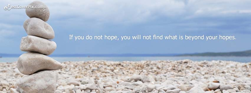 Hope Quote Cool Cover Banner Photo for Facebook