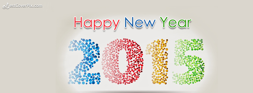 A Very Best Happy New Year 2015 To You FB Cover Banner